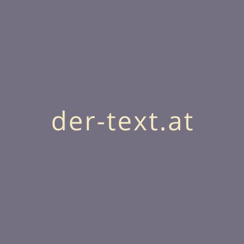 Logo der-text.at