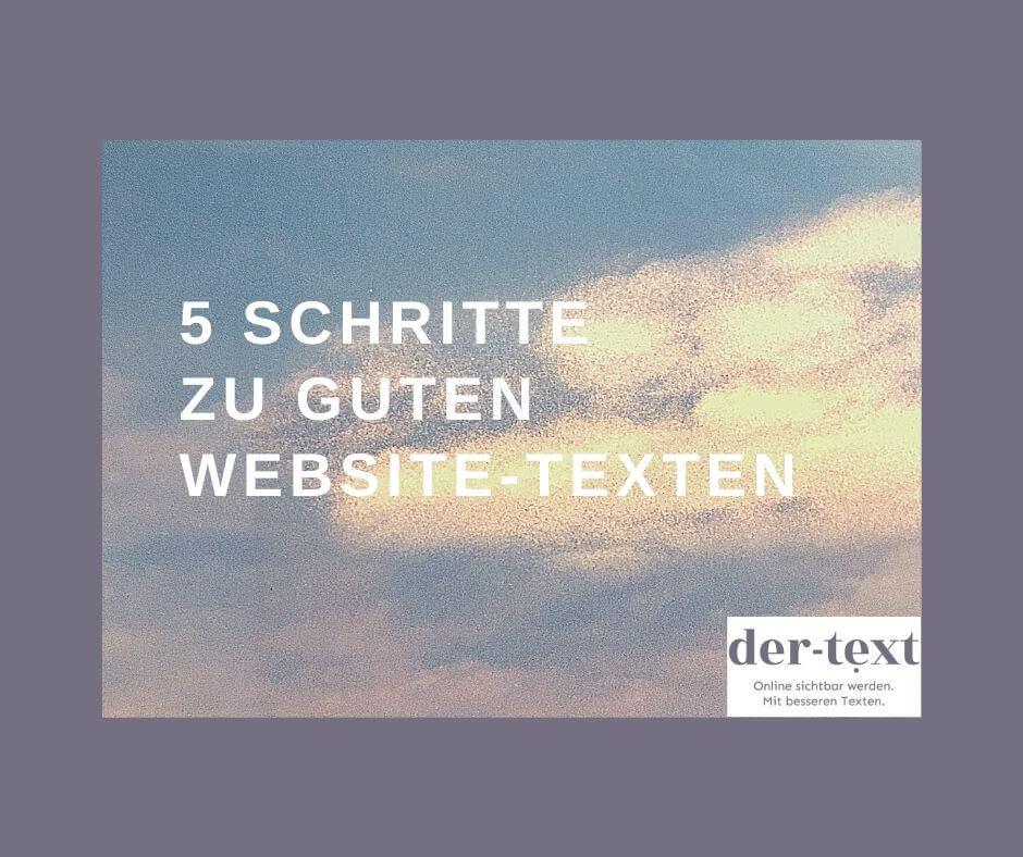 gute website texte
