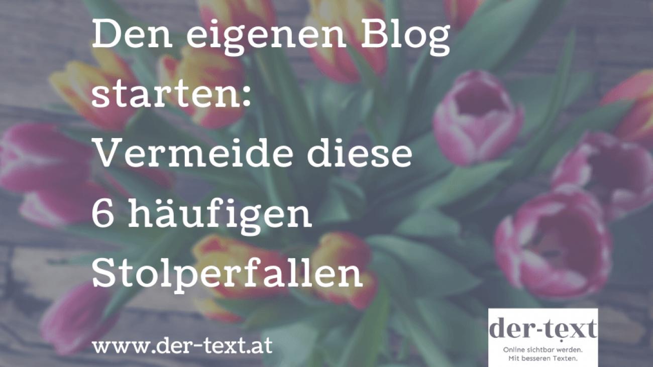 den eigenen blog starten
