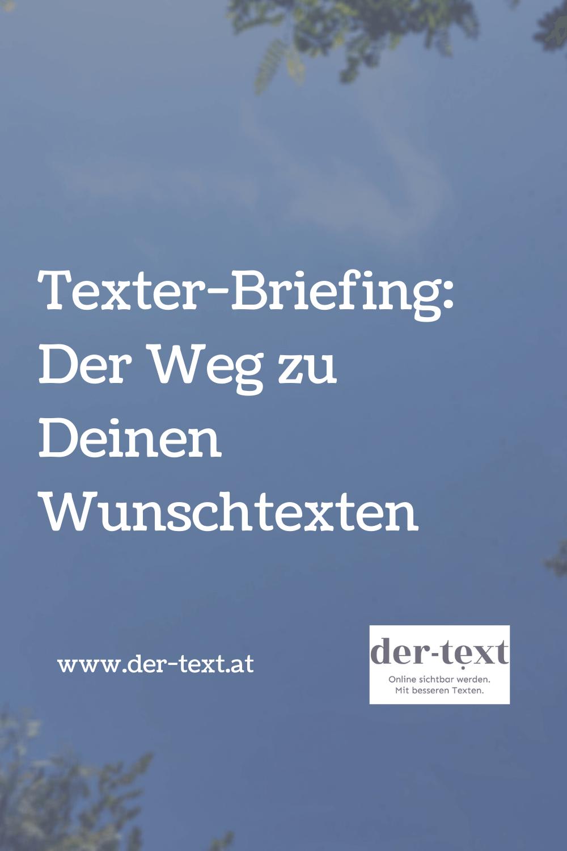 Texter-Briefing: Der Weg zu Deinen Wunschtexten