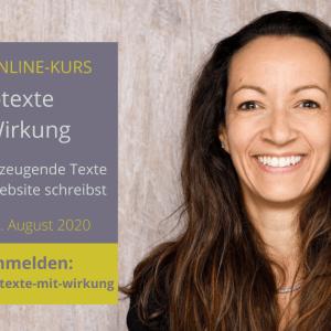 Gratis-Onlinekurs Webtexte mit Wirkung