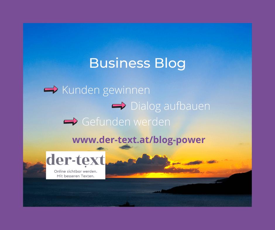 Business Blog 14 Gründe