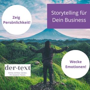 Storytelling-Anleitung für Deine Online-Texte