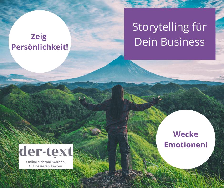 Storytelling für Deine Online-Texte