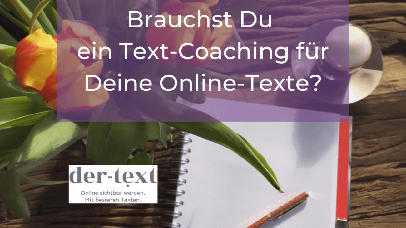 Textcoaching für Deine Online Texte