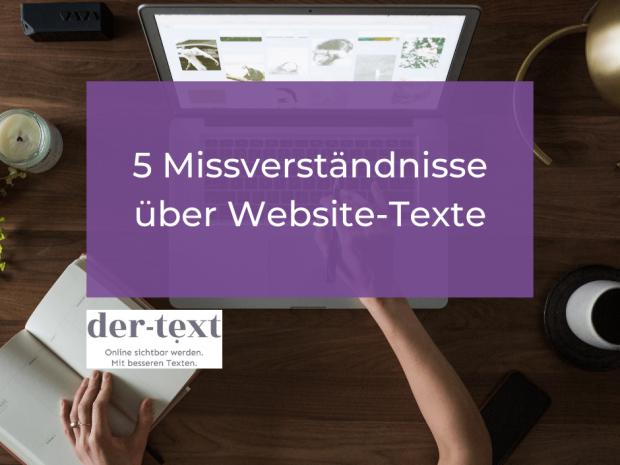 5 Missverständnisse über Website-Texte