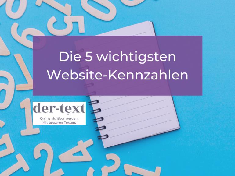 Die 5 wichtigsten Website-Kennzahlen